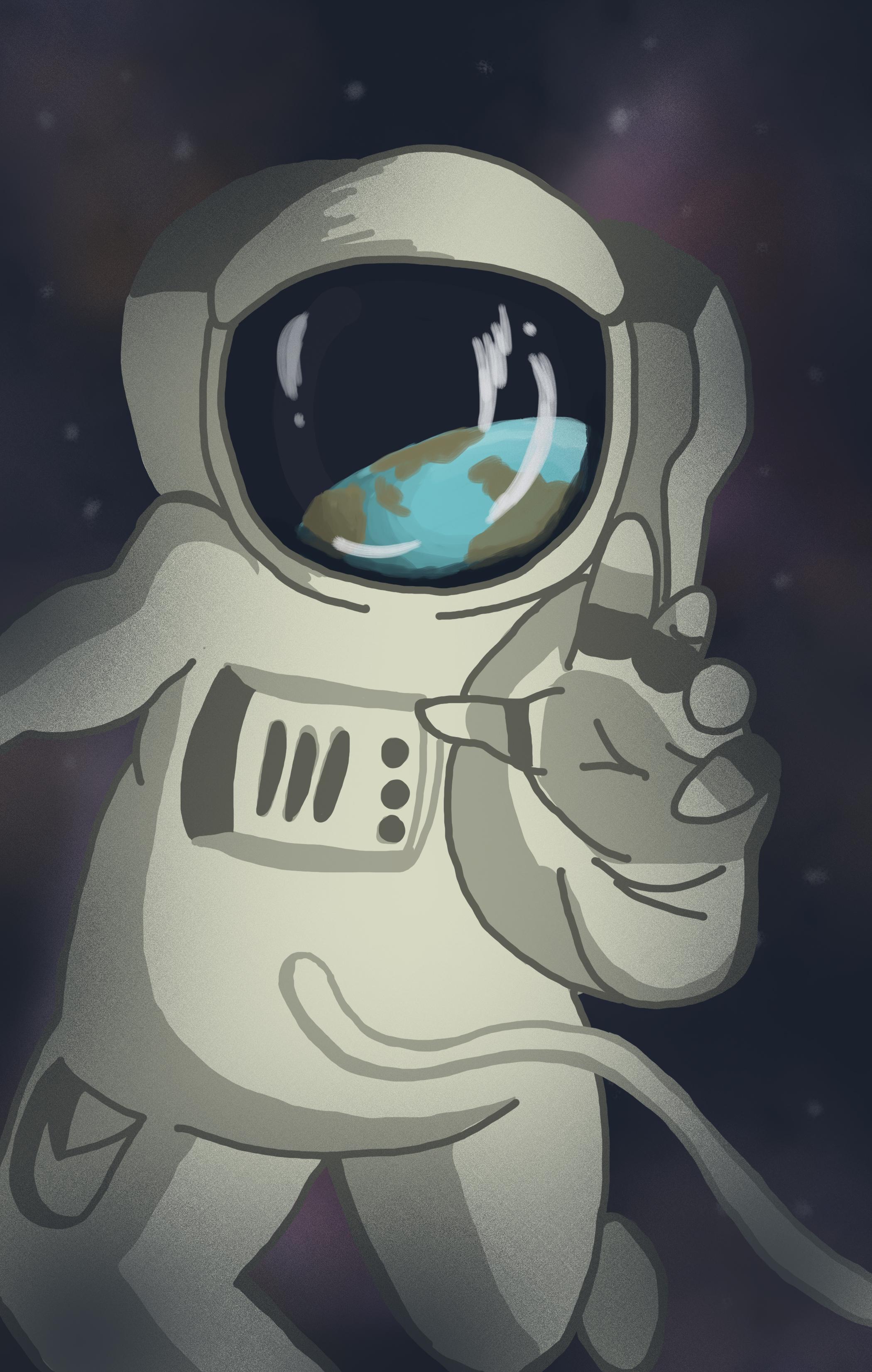 AstronautGraphic