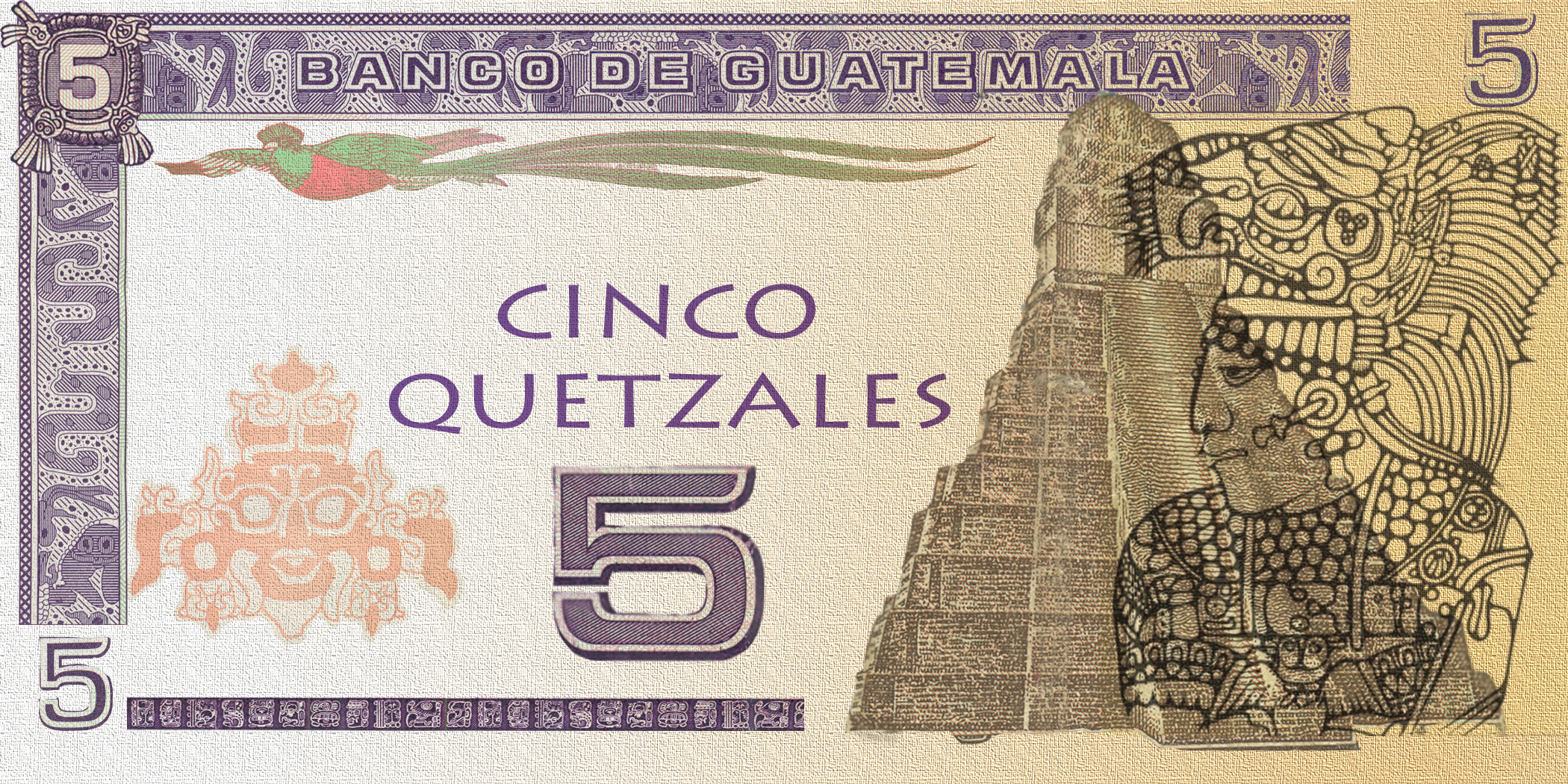5 quetzal flat