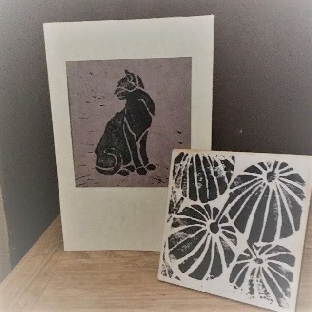 Lino Printing at Stitch Ramsbottom
