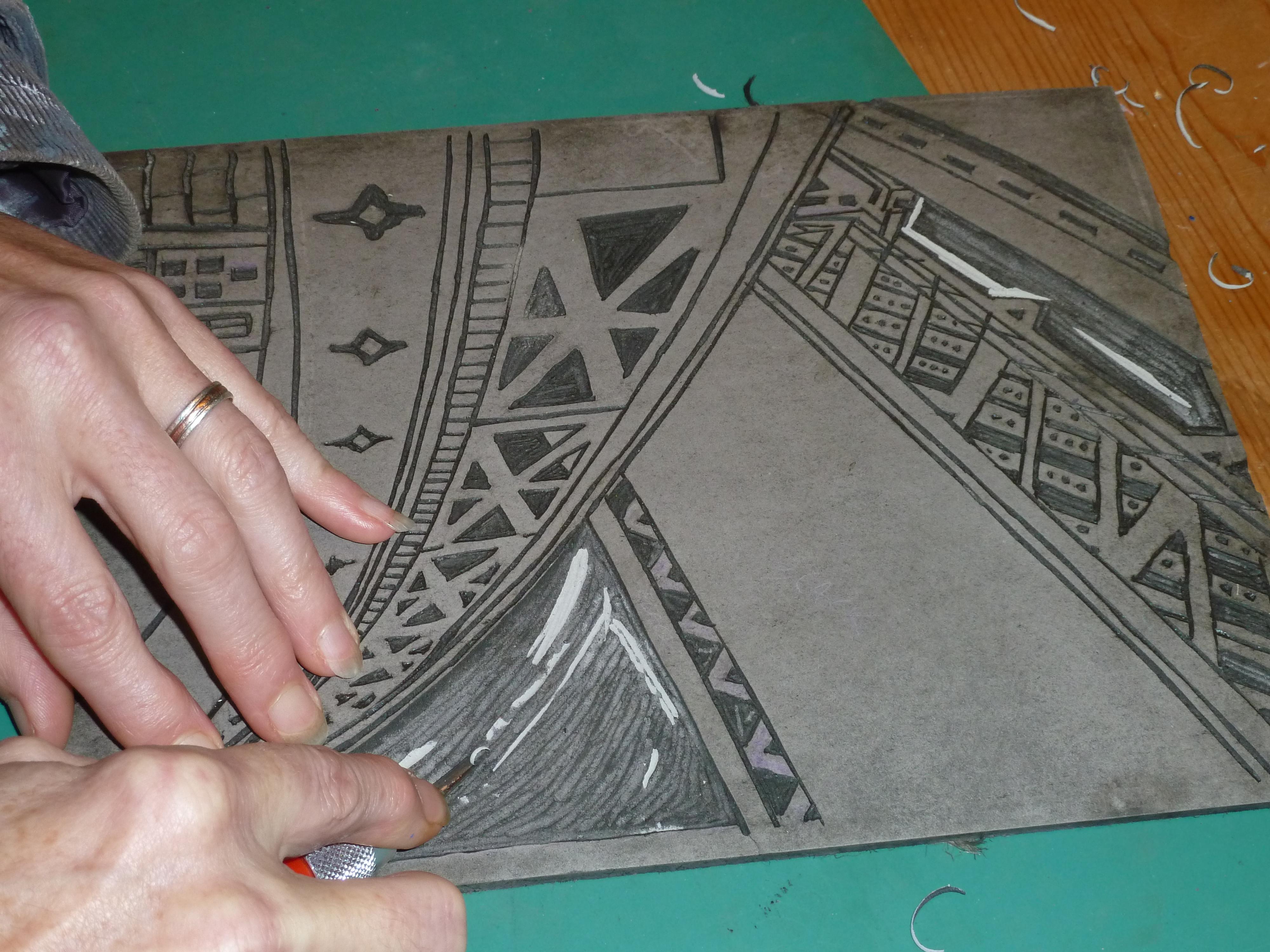 Lino Printing Workshop