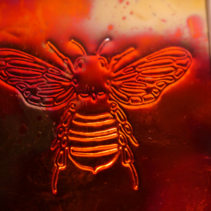 Bee on Copper