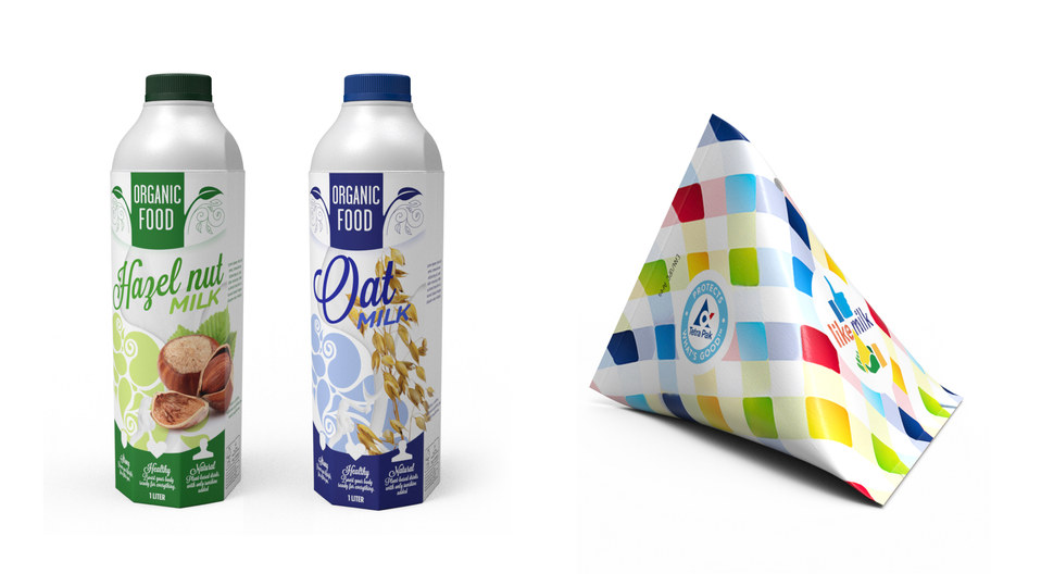 Tetra Pak Package design