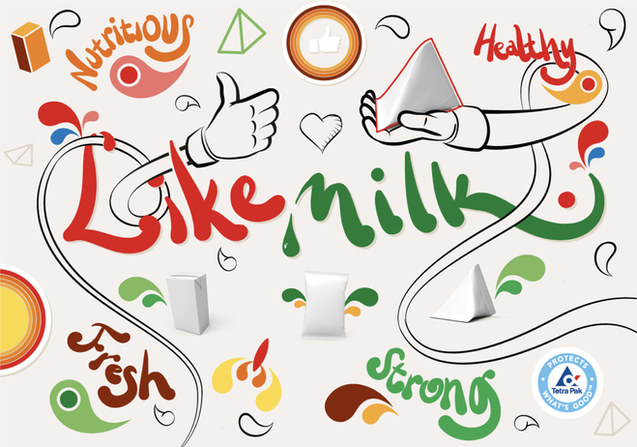 Like Milk Concept