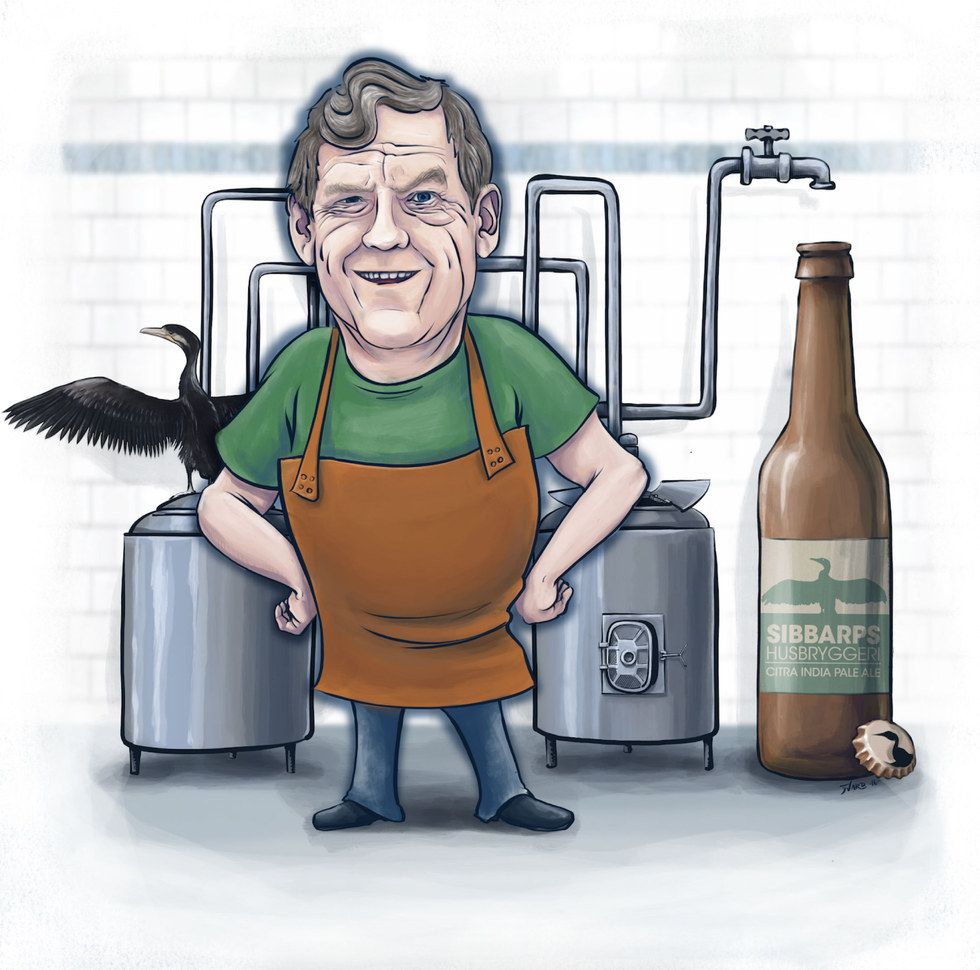 Portrait of a brewer