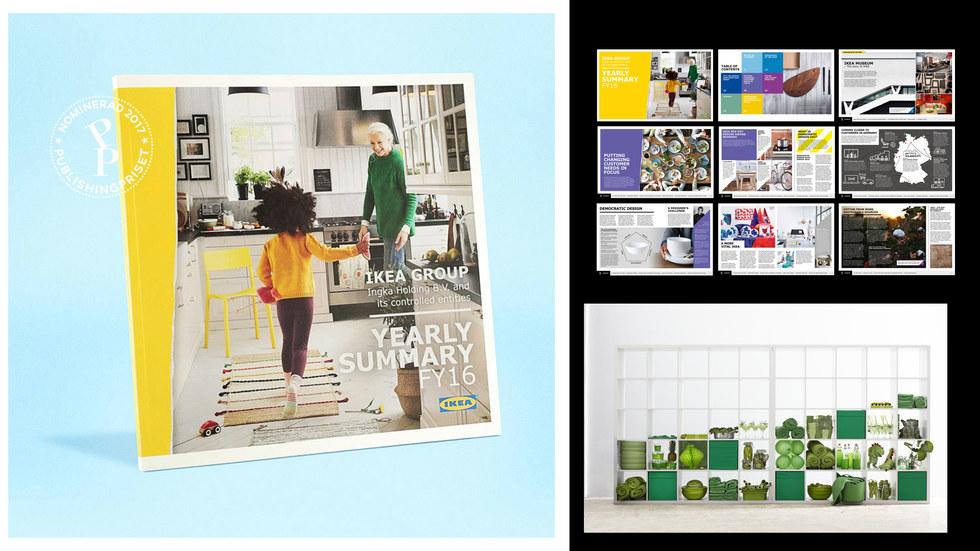 IKEA Yearly summary FY16