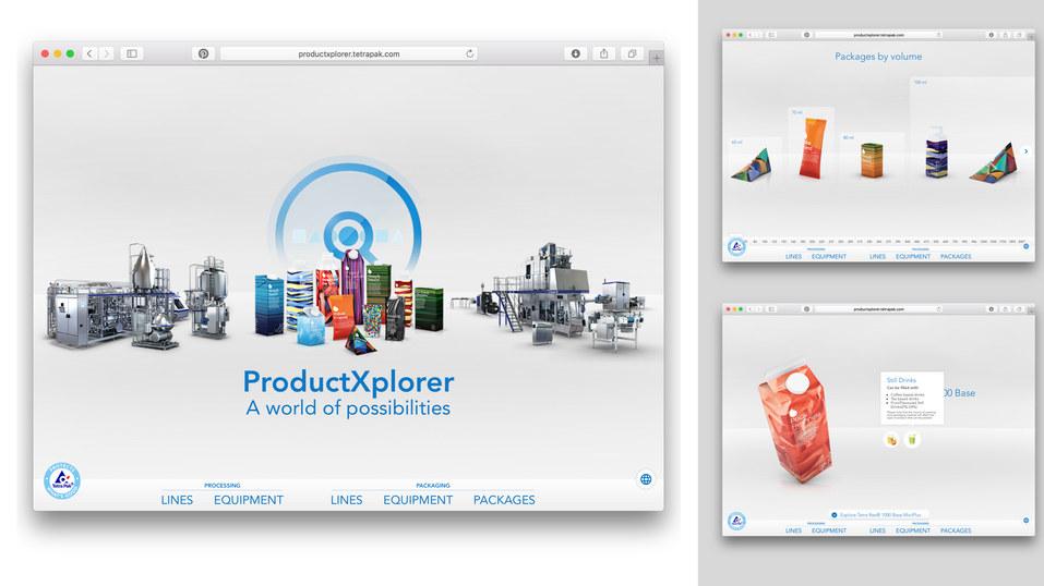 Tetra Pak ProductXplorer