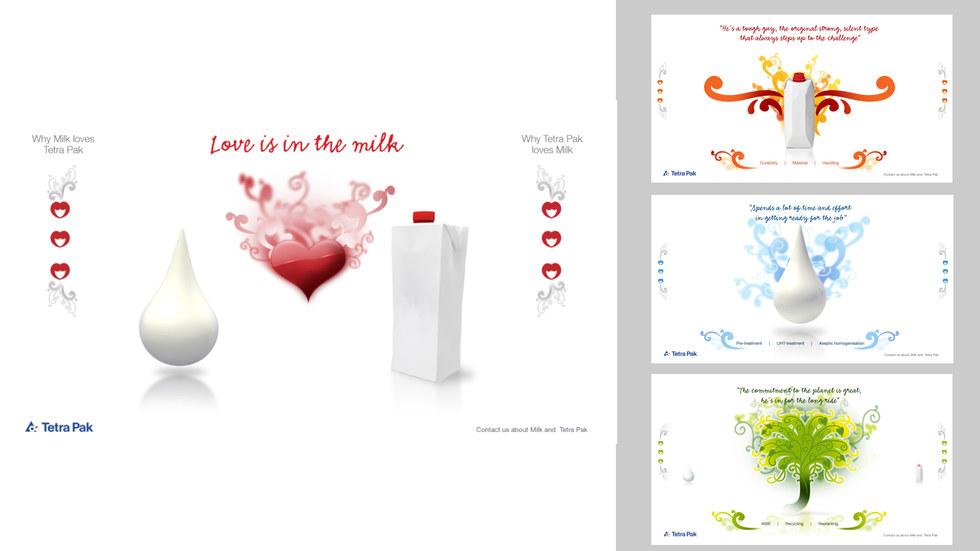 Tetra Pak - Love milk