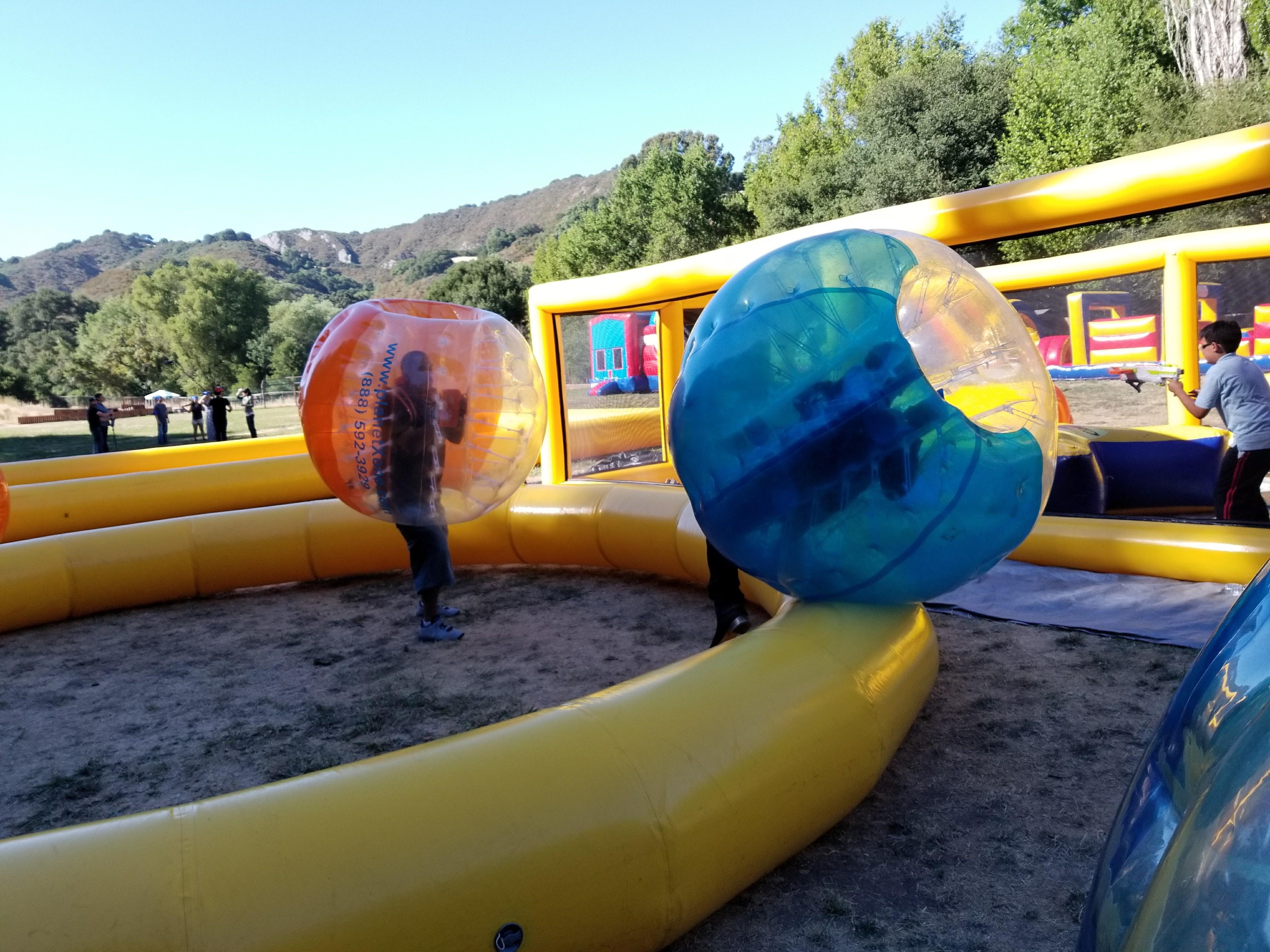 Nerf Dart Tag & Bubble Sumo