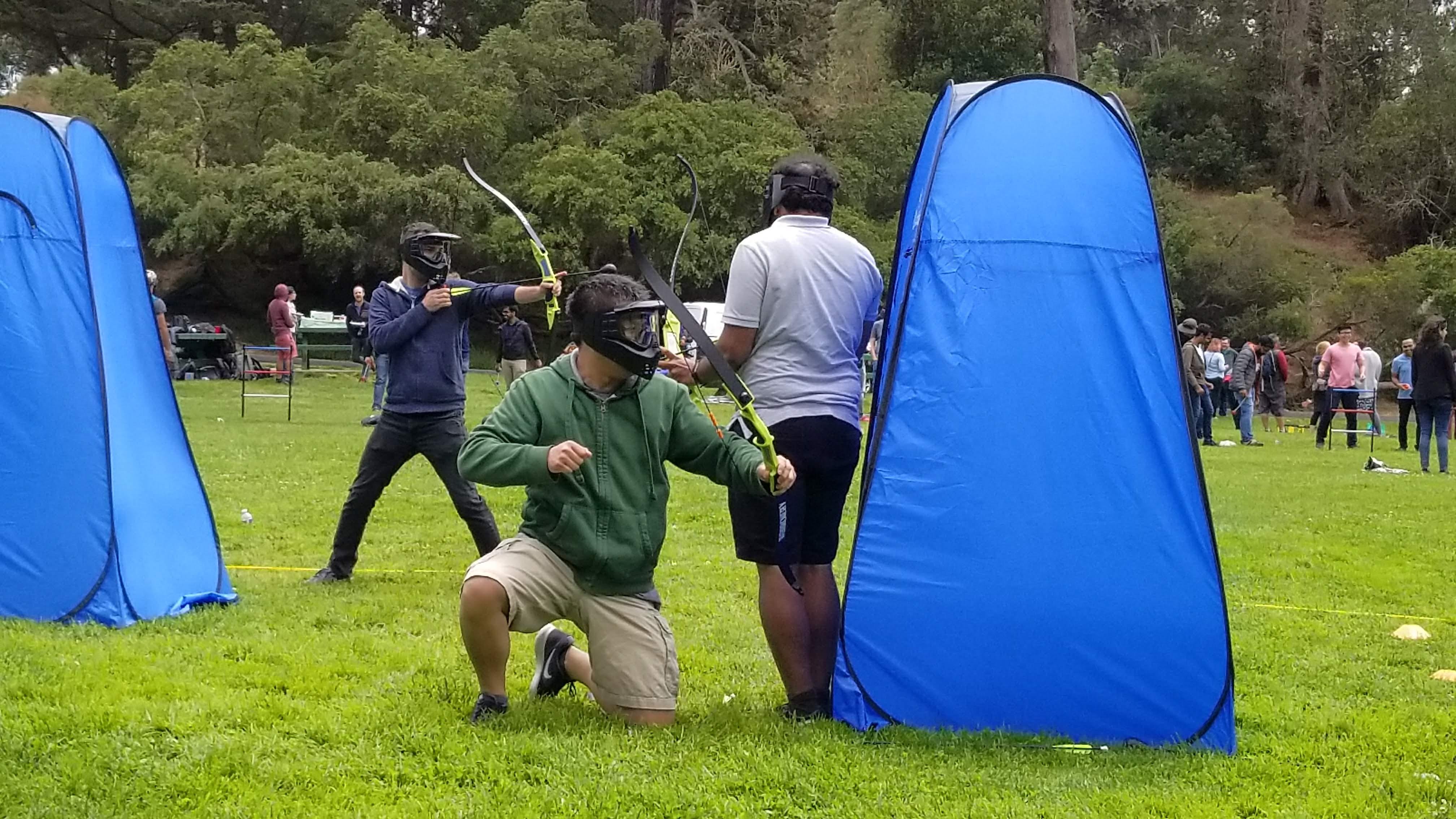 NEW GAME! Combat Archery