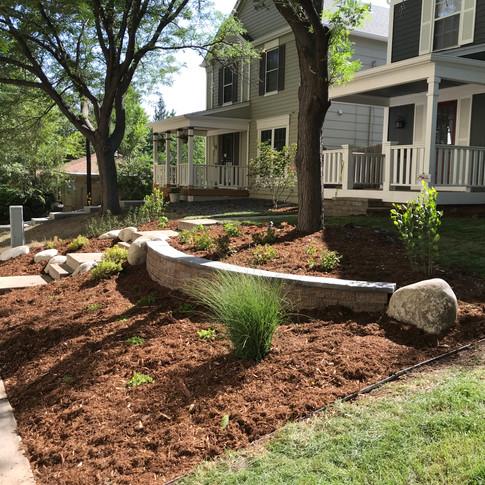 Denver Landscape Design – Front Yard Landscape