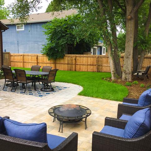 Denver Landscape Design - Outdoor Patio