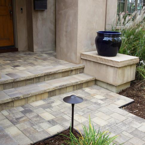 Denver Landscape Design – Entry Walkway