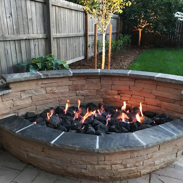 Denver Landscape Design – Gas Fireplaces