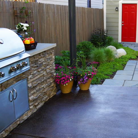 Denver Landscape Design – Outdoor Kitchen