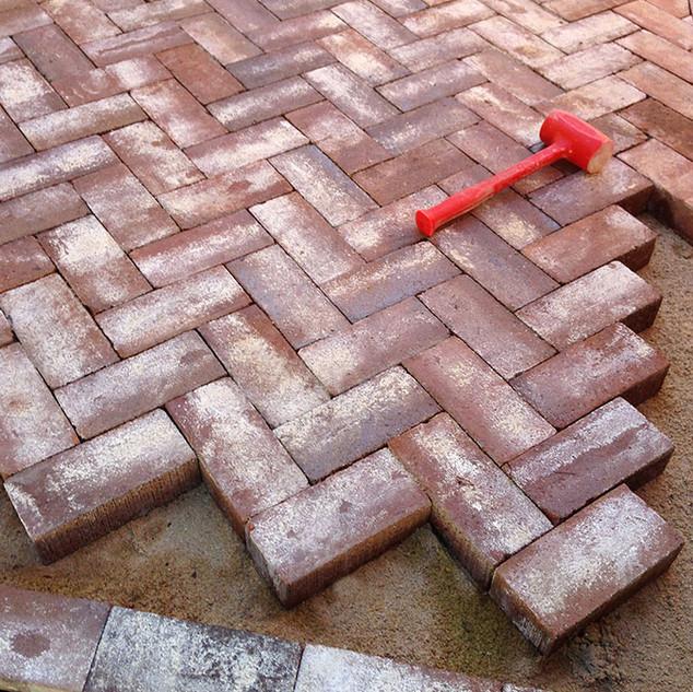 Denver Patio Design & Construction: Herringbone Patio