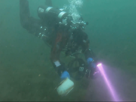Tec divers found artifact in New England