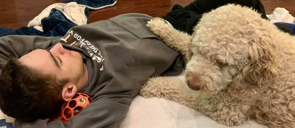 The Saga Between Service Dog Mimosa and JJ Barnes Continues as Their Bond Grows Ever Stronger