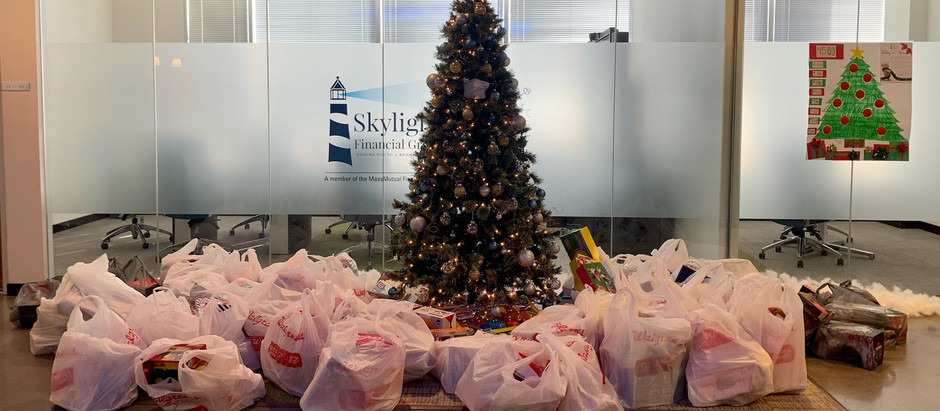 Stepping Up to the Challenge for the 2020 Annual Holiday Toy Drive