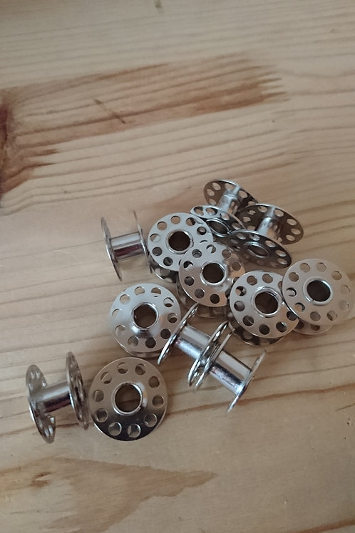Silver Plated Domestic Bobbins