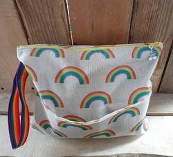 rainbow washbag
