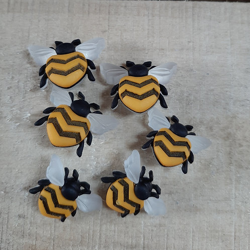 Craft Bee Happy  Buttons