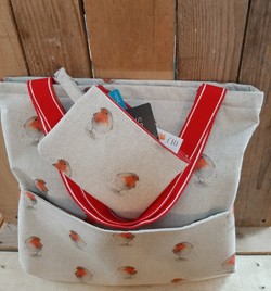 Tote bag and purse sets