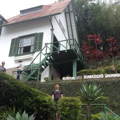 FICA A DICA: MUSEU CASA DE SANTOS DUMONT