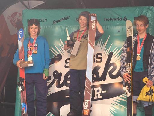 Fantin Ciompi champion suisse  !