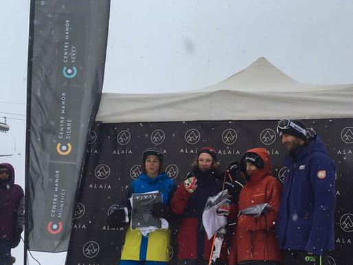 Bastien Dayer et Fantin Ciompi en Or, Mathilde Gremaud en Bronze !