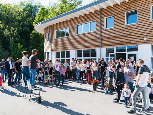 inauguration de notre centre
