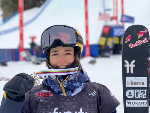 Mathilde Gremaud vice championne du monde