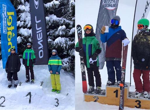 2 podiums pour Adrien Vaudaux