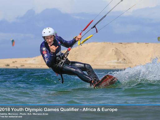 Maxime au Jeux Olympiques de la jeunesse ?