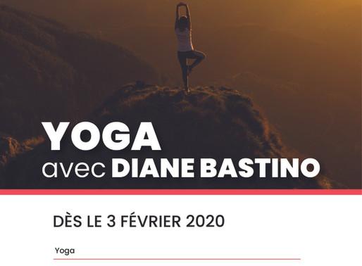 Yoga avec Diane Bastino