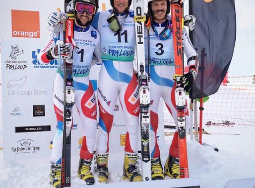 Triplé suisse et première place pour Bastien Dayer !