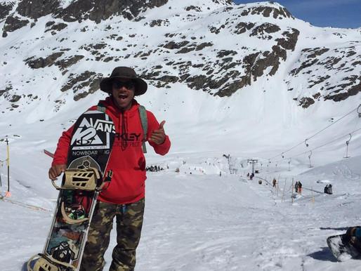 Carlos Gerber, championnat suisse snowboard freestyle