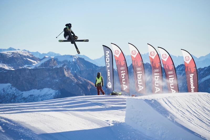 Valentin Morel remporte la première manche de la swiss freeski open