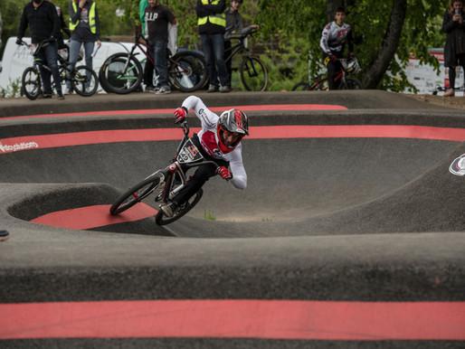 Tristan et le Red Bull Pump Track