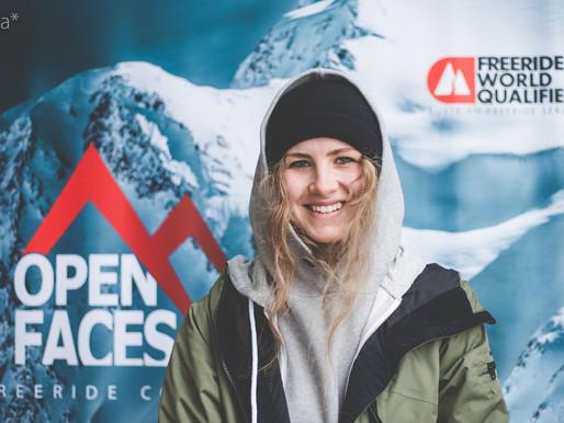 Marie Bovard (ski freeride) rejoint notre team