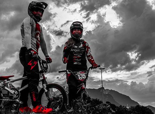 Zoé championne suisse et Tristan 3ème