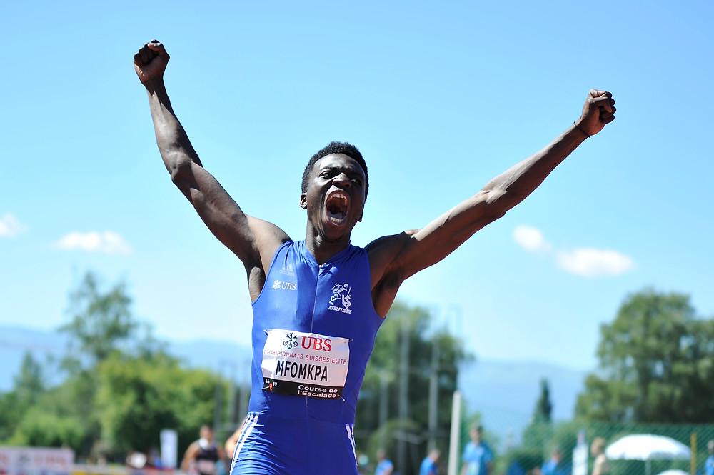 Alain-Hervé champion suisse