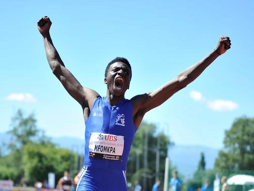 Alain-Hervé Mfompka champion suisse