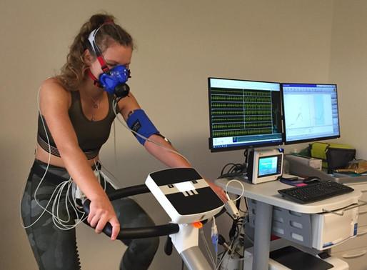 Marie Bovard, test d'effort et spirométrie.