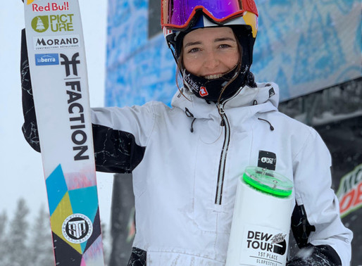 Mathilde Gremaud remporte le Dew Tour en slopestyle