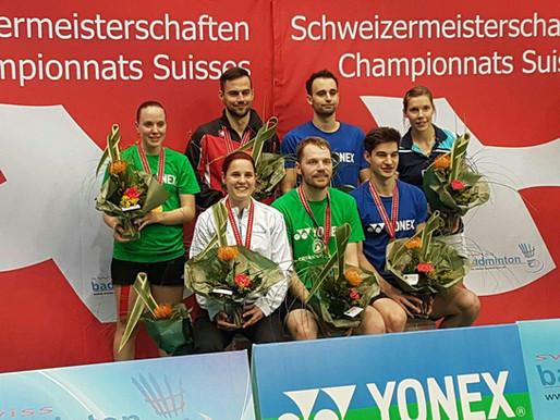 Sabrina aux championnats suisse élite