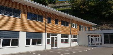 bâtiment du Swiss Talent Project Center de Chailly Mmontreux