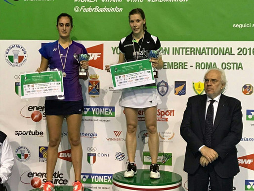 2ème succès international pour Sabrina !