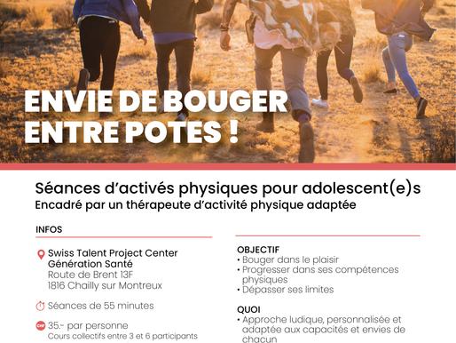 activités physiques adaptées au STP Center