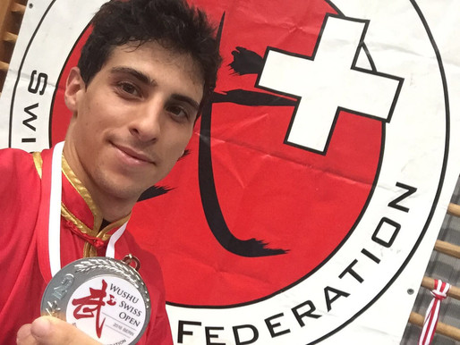 Flavio Campanile 3x médaillé d'argent !