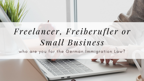 Freelancer, self-employed, and small business in Germany: Same or Different?